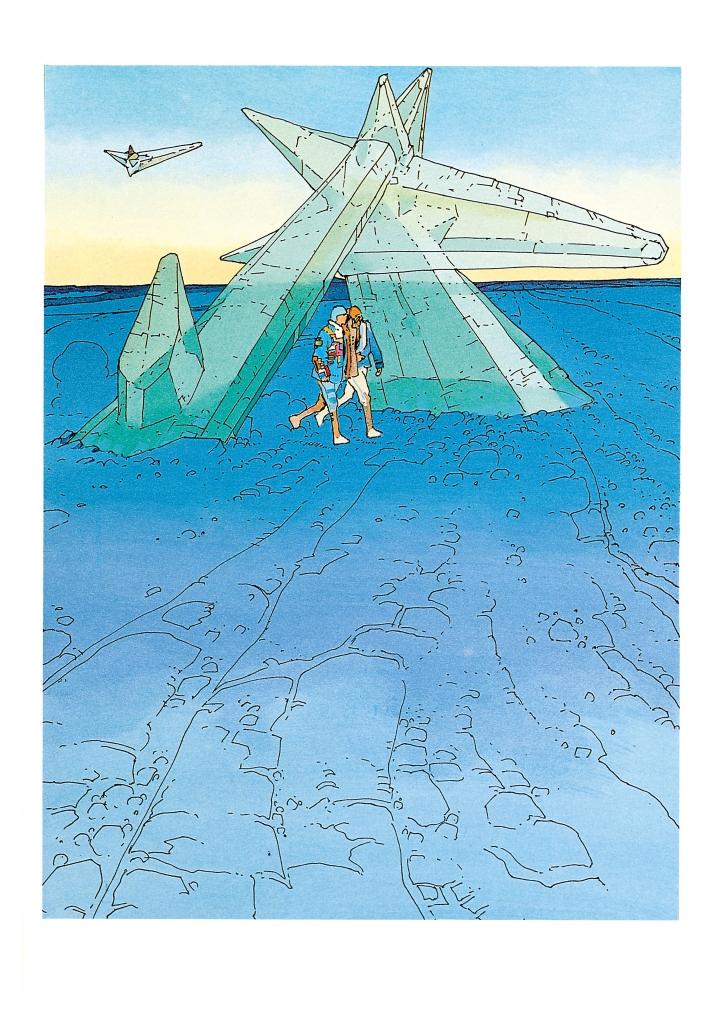 《伊甸纳:星际修复师的奇幻迷航》内页  Casterman