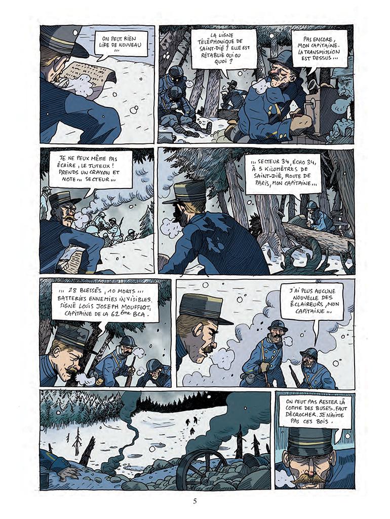 Casterman Les Poilus Dalaska Tome 1 Moufflot Hiver 1914