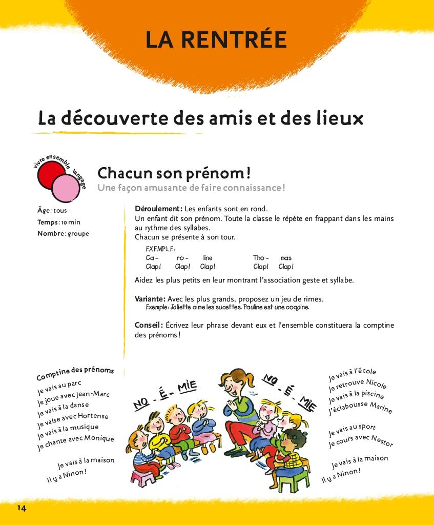 Casterman 1001 Activités Pour La Maternelle