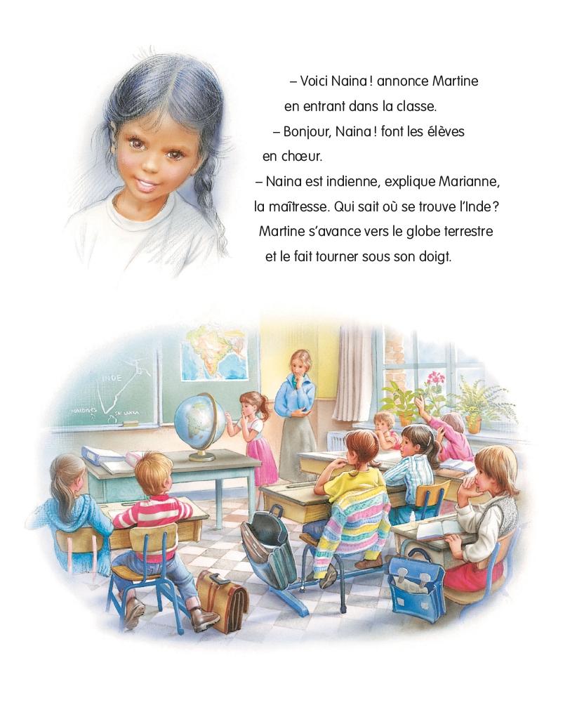 Livres En Francais Martine A Lecole T 34 Jeunesse