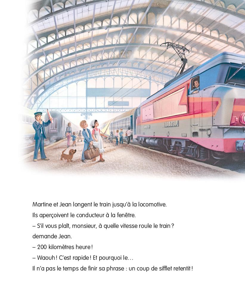 Livres En Francais Martine Martine Prend Le Train Agir Ind Br