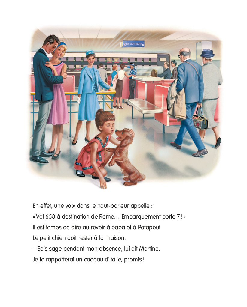 Martine En Avion by Delahaye Gilbert - AbeBooks