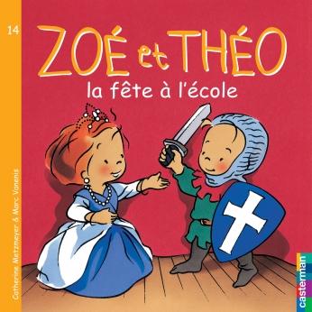 Zoé et Théo - la fête à l'école