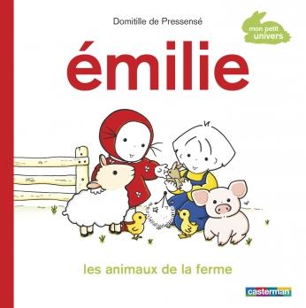 Émilie, les animaux de la ferme