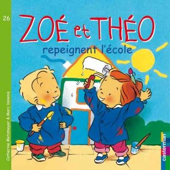 Zoé et Théo Repeignent l'École