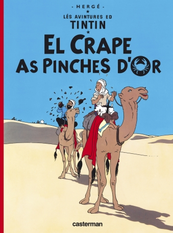 Le Crabe aux pinces d'or  - En picard de Hollain