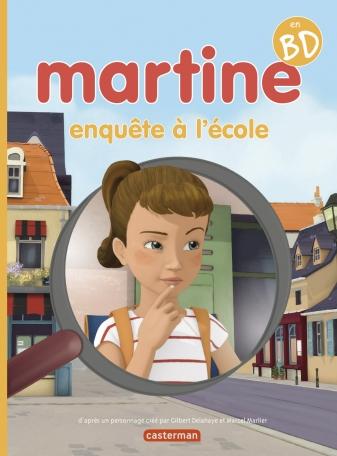Martine, enquête à l'école
