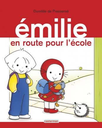 Émilie en route pour l'école
