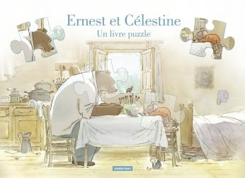 Ernest et Célestine, un livre puzzle