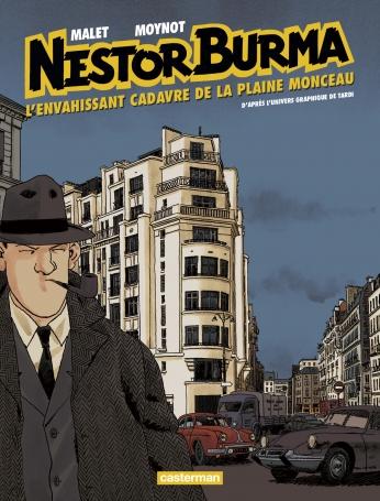 Nestor Burma - Tome 7 - L'Envahissant cadavre de la place Monceau
