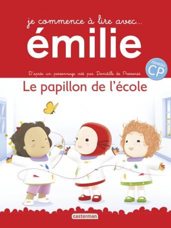 Je commence à lire avec Émilie - Tome 2 - Le papillon de l'école