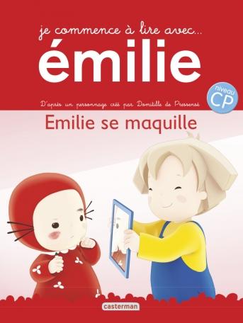 Je commence à lire avec Émilie - Tome 4 - Émilie se maquille