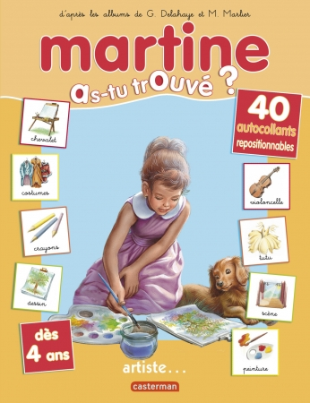 Martine, artiste...