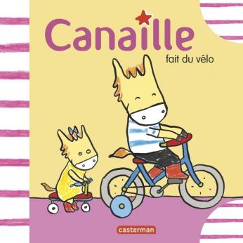 Canaille fait du vélo