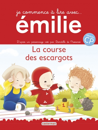 Je commence à lire avec Émilie - Tome 8 - La course des escargots