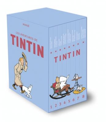 Coffret tout Tintin