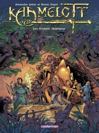 Kaamelott - Tome 9 - Les Renforts Maléfiques