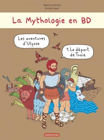 Les aventures d'Ulysse - Le départ de Troie
