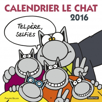 Calendrier Le Chat 2016