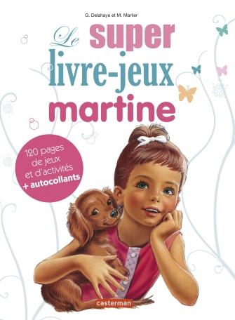 Le super livre-jeux Martine