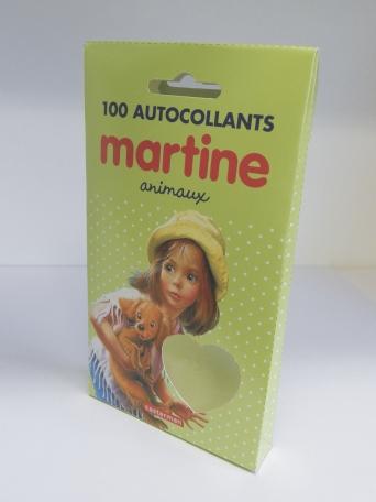 Martine, 100 autocollants Animaux