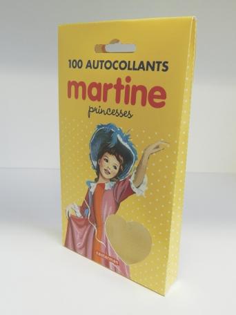 Martine, 100 autocollants Princesses