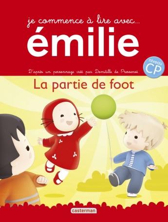 Je commence à lire avec Émilie - Tome 11 - La partie de foot
