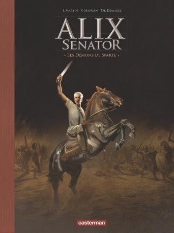 Alix Senator - Tome 4 - Les Démons de Sparte