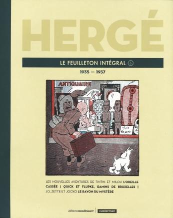 Hergé, le feuilleton intégral - Tome 6