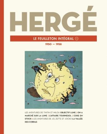 Hergé, le feuilleton intégral - Tome 11 - 1950 - 1958