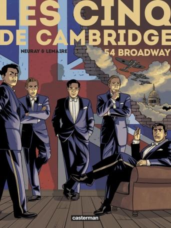 Les Cinq de Cambridge - Tome 2 - 54 Broadway