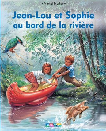 Jean-Lou et Sophie au bord de la rivière