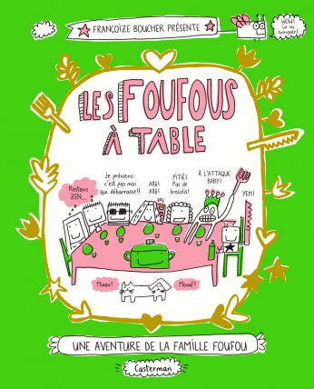 Les Foufous à table  - Tome 1