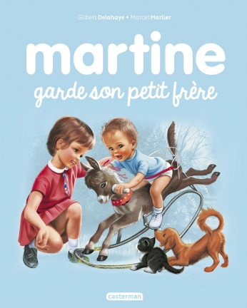 Martine garde son petit frère
