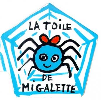 La toile de Migalette