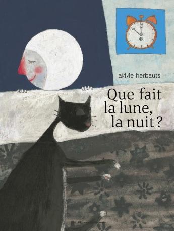 Que fait la lune la nuit?
