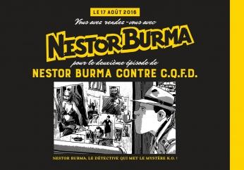 Nestor Burma contre CQFD - Prépublication - Numéro 1 - 19 juin 2016