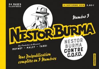 Nestor Burma contre CQFD - Prépublication - Numéro 3 - 14 septembre 2016