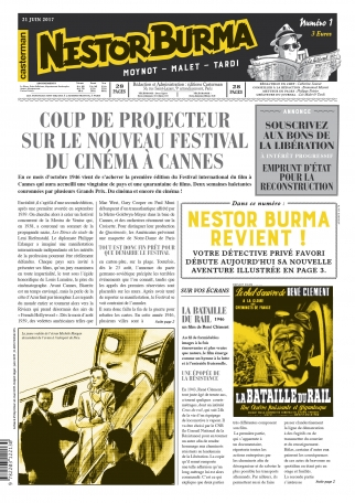 Nestor Burma : L'Homme au sang bleu - Numéro 1 - 21 juin 2017
