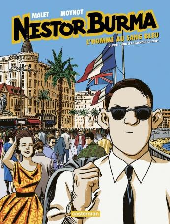 Nestor Burma - Tome 11 - L'Homme au sang bleu