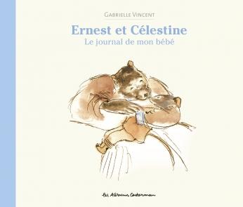Ernest et Célestine, le journal de mon bébé