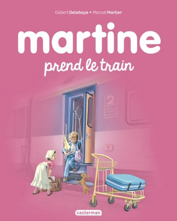 Martine prend le train - Tome 28