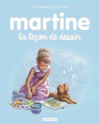 Martine, la leçon de dessini