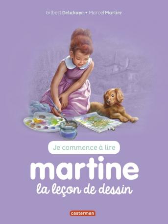 Je commence à lire avec Martine - Tome 30 - Martine, la leçon de dessin