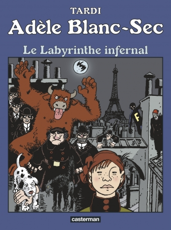 Adèle Blanc-Sec - Tome 9 - Le Labyrinthe infernal