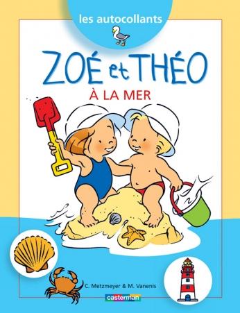 Les autocollants Zoé et Théo