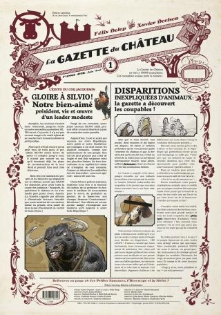 La Gazette du Château - Tome 1 - 1ère année : Avril