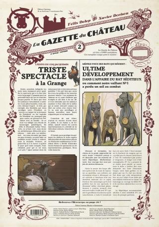 La Gazette du Château - Tome 2 - 2ème année : Juin