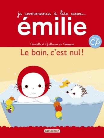 Je commence à lire avec Émilie - Tome 18 - Le bain, c'est nul !