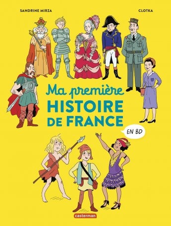 Ma première Histoire de France en BD